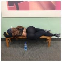 yoga pants sleeping