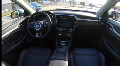 MG ZS EV Interior latest cars in India 2020