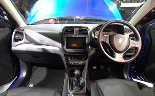 Vitara Brezza facelift interior