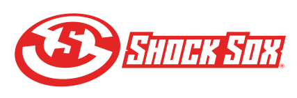 shock sox lockup red