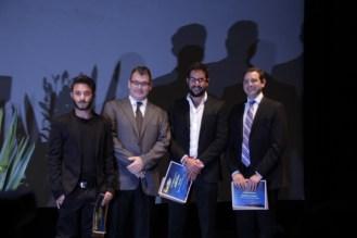 Moïs Roditi, Mark Liwerant, Saúl Masri y Benjamín Wlodawer.