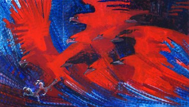 La-gran-parvada-de-los-cuervos-rojos-2013-obra-perteneciente-a-la-serie-homónima-que-actualmente-se-exhibe-en-el-Museo-Universitario-Leopoldo-Flores.-Foto-de-Fernando-Chacón-Meza.