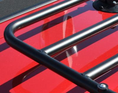 BMW Z3 luggage rack frame close up