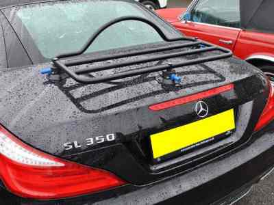 Car Luggage Rack Revo Rack Fitted to Mercedes SL 350