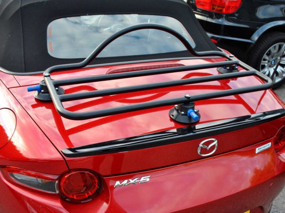 Luggage rack experience with ND? - MX-5 Miata Forum