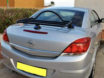 astra convertible luggage rack
