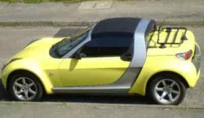 porte-bagages smart roadster cabriolet