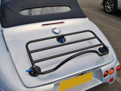 morgan aero 8 luggage rack