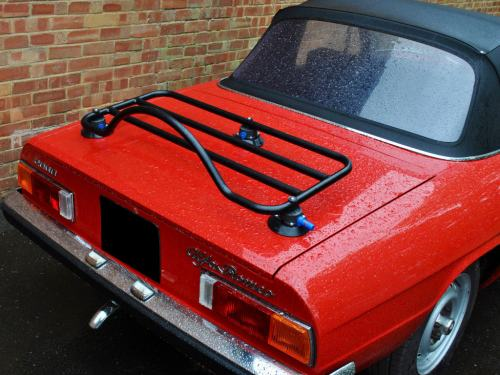 alfa romeo duetto spider trunk luggage rack