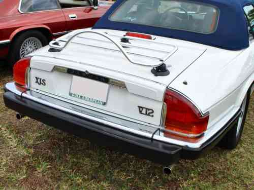 jaguar xjs cabrioler trunk deck luggage rack