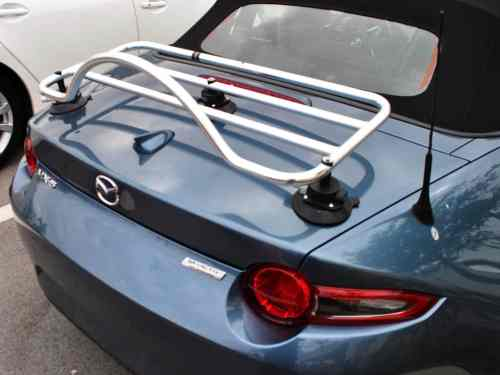 mazda miata mx5 mk4 nd stainless steel luggage rack