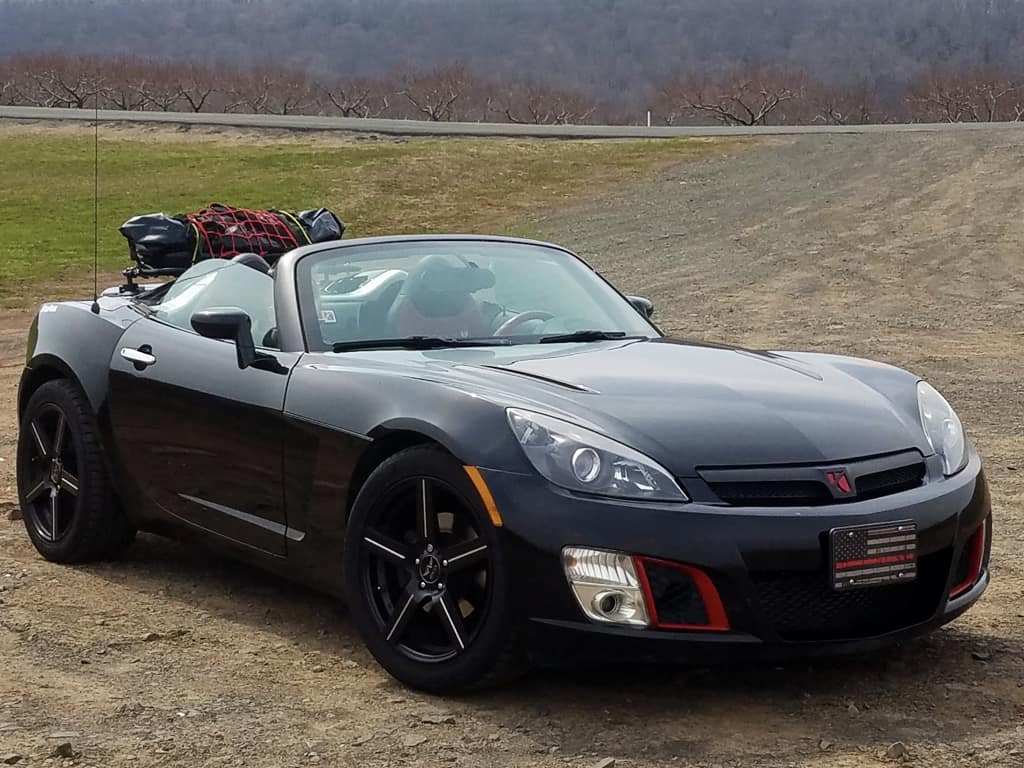 saturn sky trunk lugagge rack
