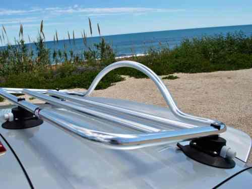 audi tt mk2 roadster stainless steel luggage rack rack