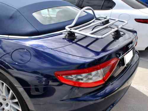 Bentley stainless steel luggage rack