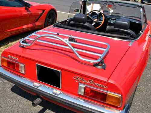 alfa romeo duetto luggage rack