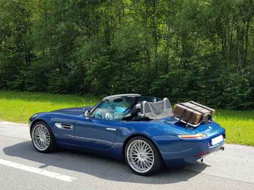 bmw z8 trunk rack