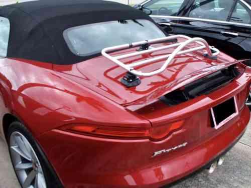 Jaguar F Type Cabriolet Gepäckträgern Edelstahl