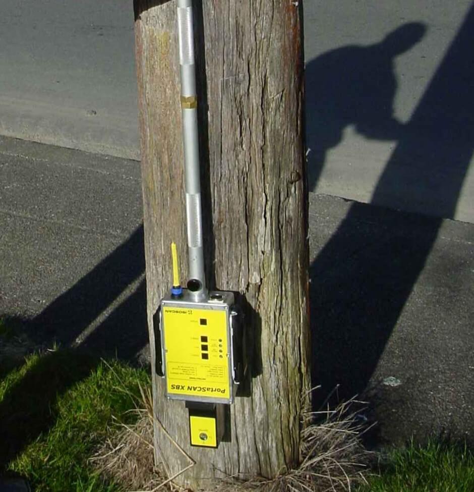 PortaSCAN XBS On Pole