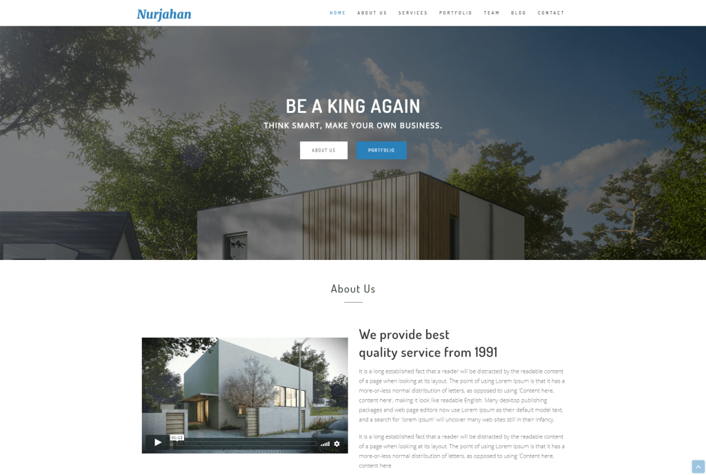 20 best html5 one page website templates 2018 revolthemes you can use it for your architectural agency interior farm and much more like these you will get a working contact form so that you can reach your cheaphphosting Image collections
