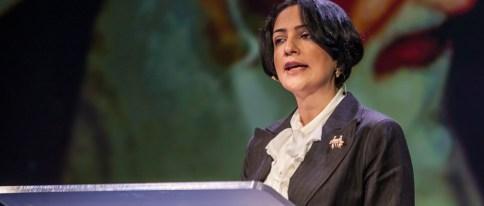 Maryam Faghihimani om å bo i et Ayatollah-hjem. Hun måtte kjempe seg fri til vesten. Foto Ole Chr. Eklund