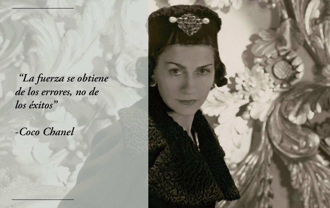 Las 40 Mejores Frases De Coco Chanel Revolución Personal