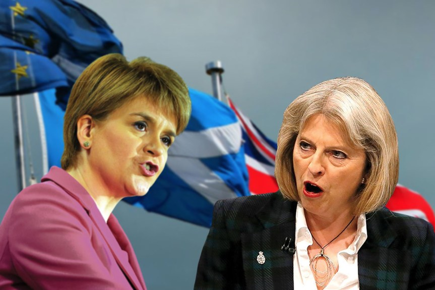 Sturgeon's call for IndyRef2 sparks political storm