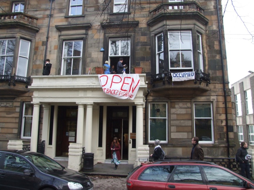 The Hetherington Occupation: Memories and Lessons for The Student Movement