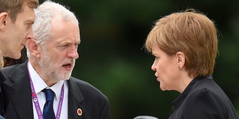 Corbyn's Labour throws gauntlett to SNP