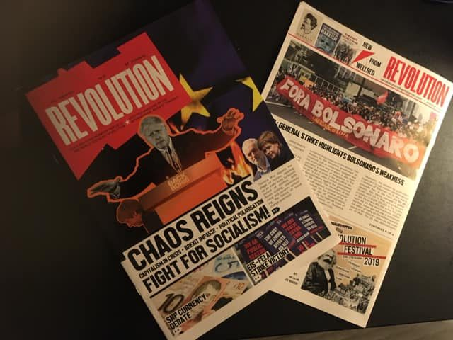 Chaos Reigns: Fight for Socialism! (Issue 28 Editorial)