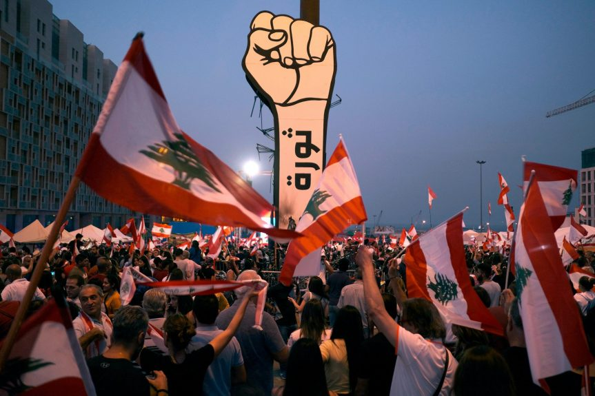 The Lebanese revolution topples another Government