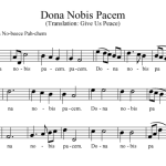 """""""Dona Nobis Pacem"""": Give Us Peace (EP. 338)"""