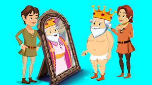 """""""The Emperor's New Clothes"""" is about a vain, easily fooled ruler."""