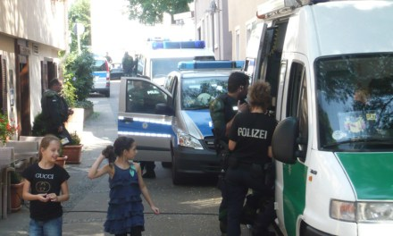 Proteste gegen NPD in Bad Cannstatt