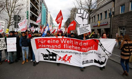 Fluchtursachen bekämpfen! Demonstration und Antikapitalistischer Block in Stuttgart