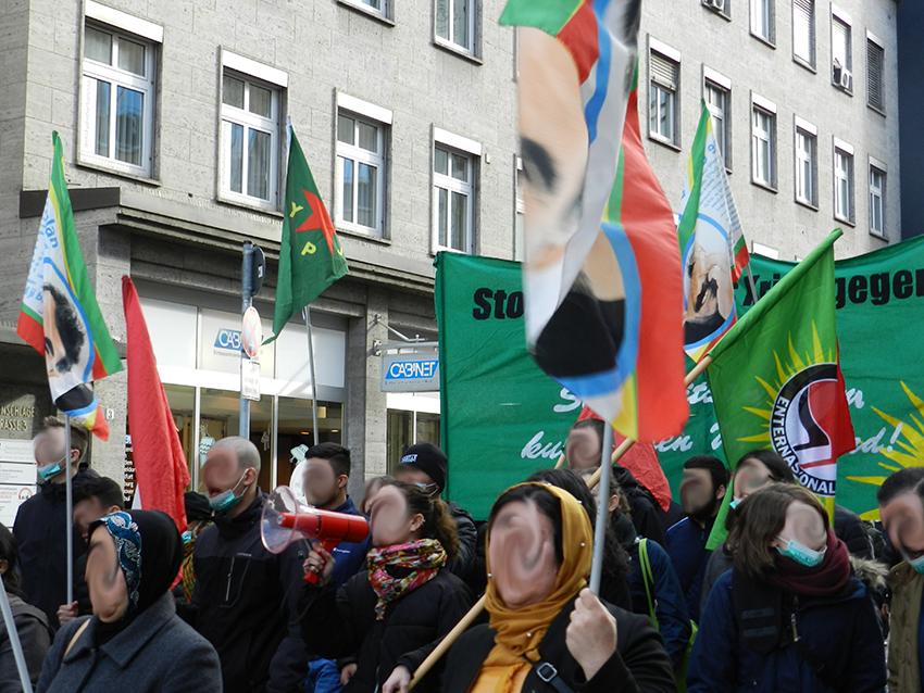 """Demonstration """"Solidarität mit den Hungerstreikenden in der Türkei"""""""