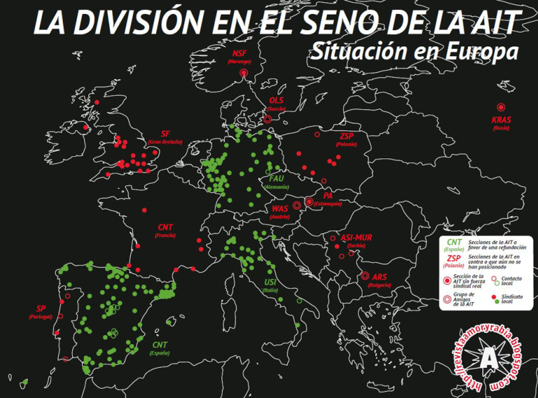 IWA division in Europe