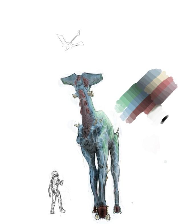 Alien Giraffe