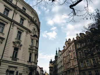 Fotoalbum: Prag im März