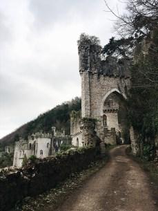 Winter in Wales: Gwrych Castle