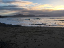Winter in Wales: Dinas Dinlle
