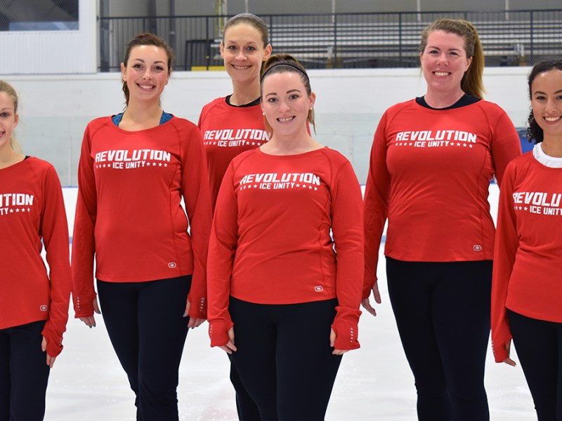 RIU skaters show what to wear at practice.