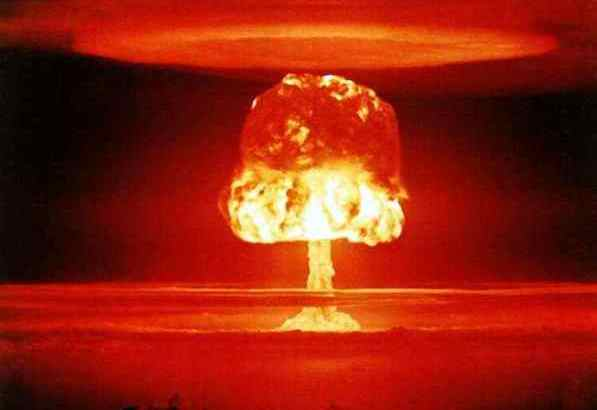 uranium bomb explosion is an example use of an actinide element