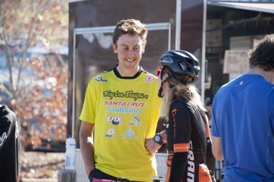 Chris Panozzo Post race stoked face!