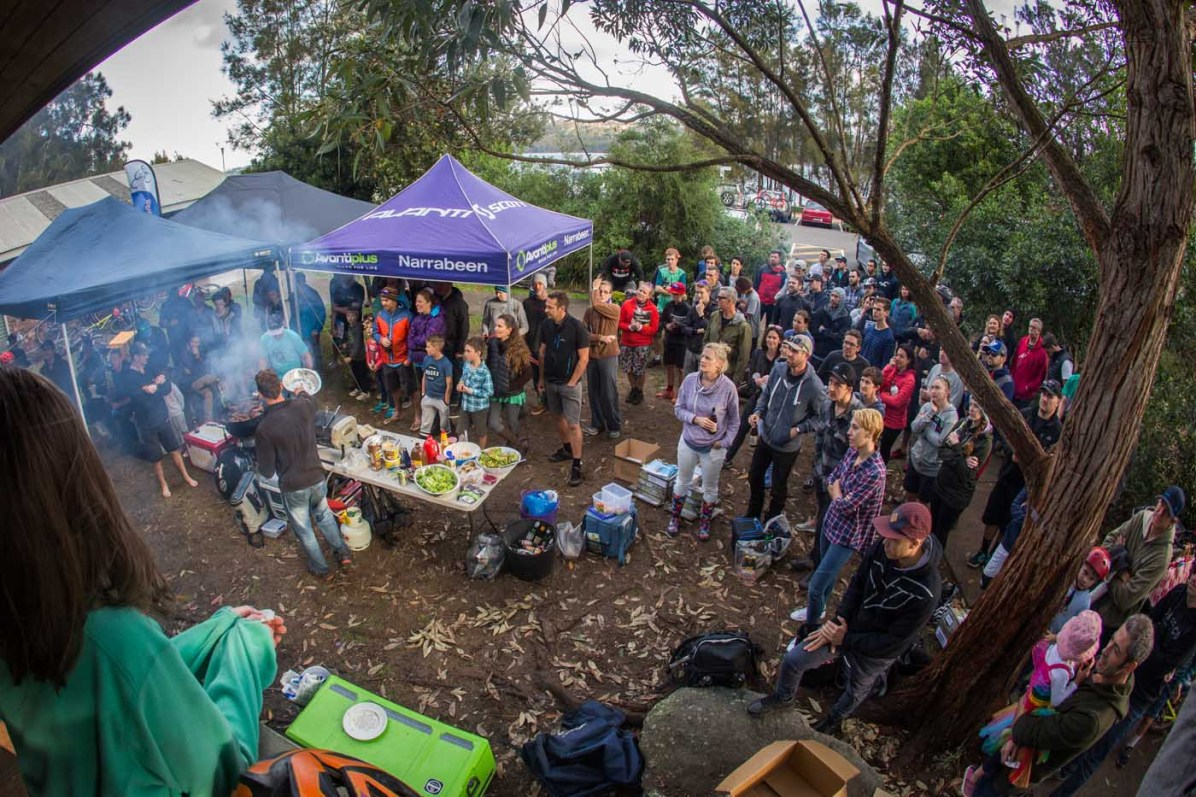 The sense of community is strong here. They all share a common interest of mountain biking and a desire to protect the environment in which they ride and live in. Pic:©Richard McGibbon