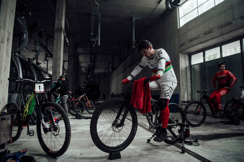 Loic Bruni at Val di Sole, Italy on August 3rd, 2019 // Bartek Wolinski/Red Bull Content Pool