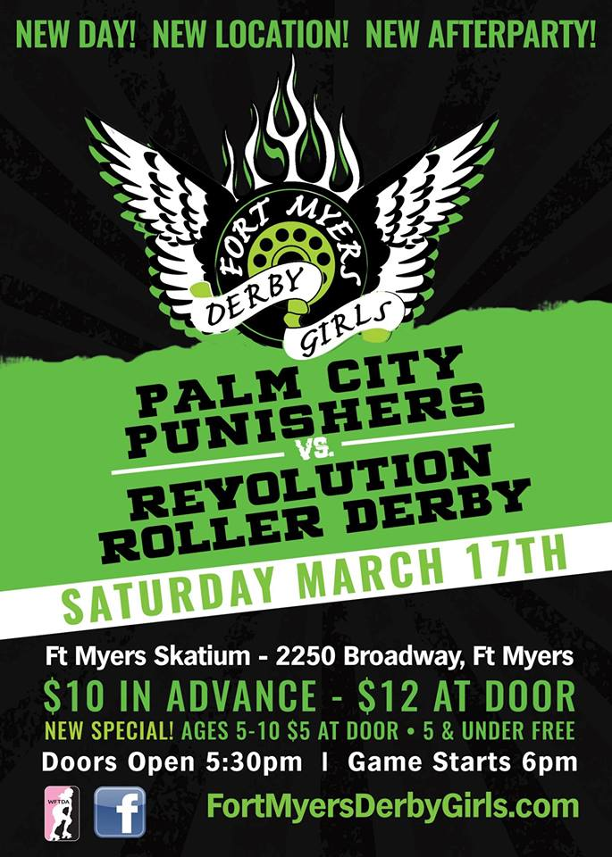 Fort Myers Florida Roller Derby, Pinellas County Roller Derby
