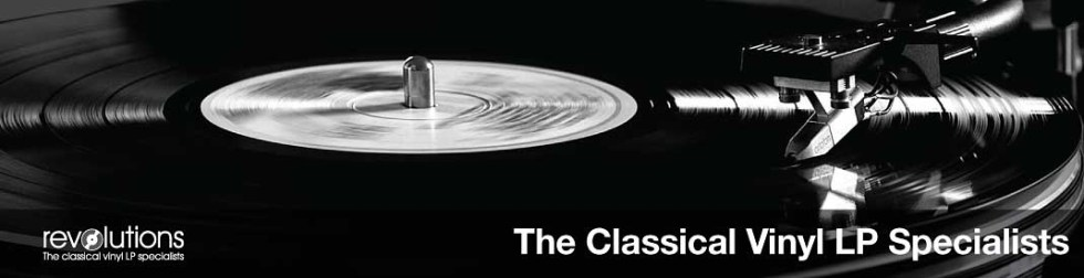 Revolutions records the classical vinyl LP specialists