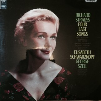 SAX 5258 Richard Strauss Four Last Songs / Schwarzkopf / Szell / BRSO E/R