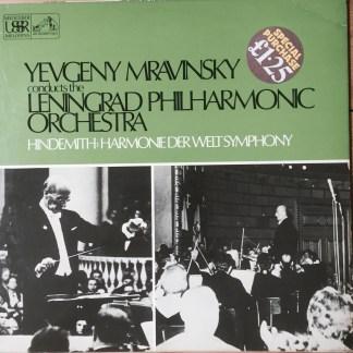 ASD 2912 Hindemith Die Harmonie der Welt Symphony / Mravinsky / Leningrad Philharmonic