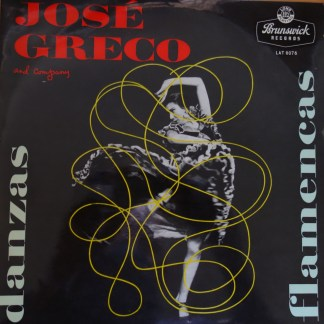 LAT 8076 Jose Greco and Company / Danzas Flamencas